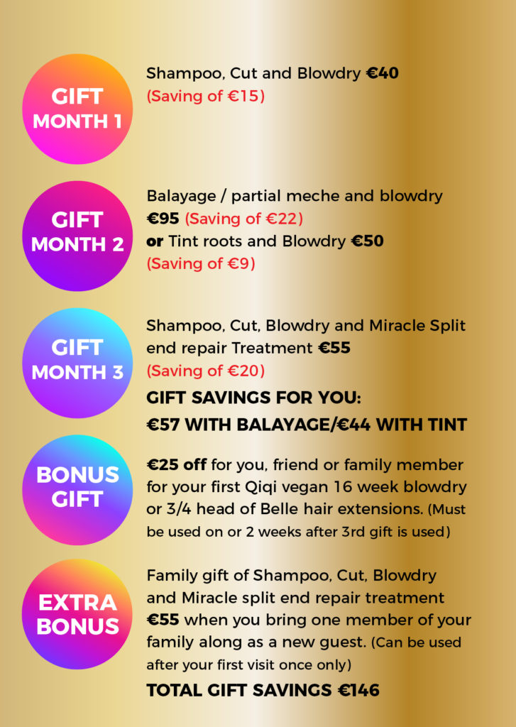 New Guest Gift Pack At House Of Colour Hair Salons In Dublin