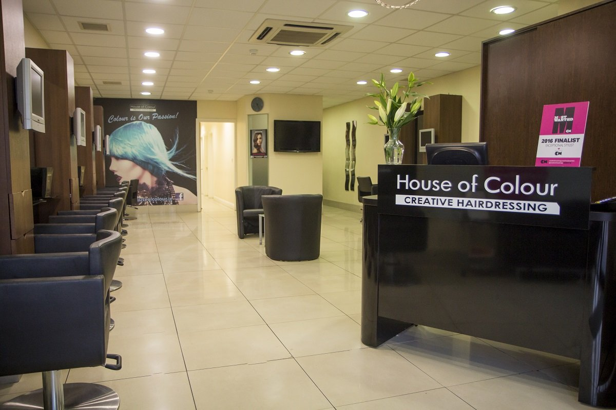 house of colour hair salon in the Griffeen Centre, Lucan, Dublin,