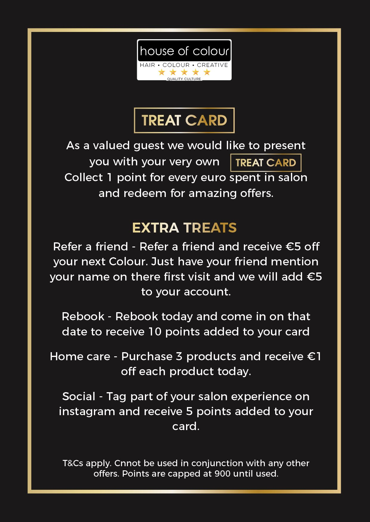 Access Special Offers With A Treat Card At The Top Hairdressers In Dublin