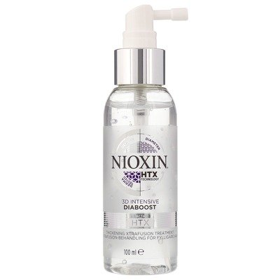 1056271 nioxin 3d intensive care diaboost hair thickening xtrafusion 100ml