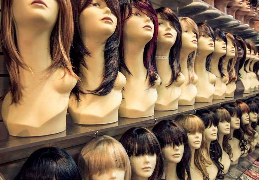 Wigs at House of Colour Hairdressers in Dublin Ireland