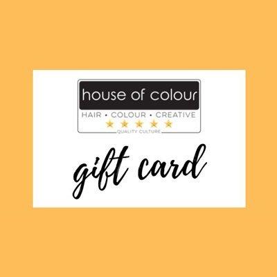 gift voucher house of colour hair salons, dublin, ireland
