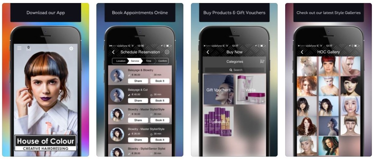 download our app, house of colour hair salons dublin