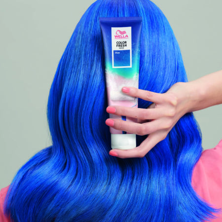 Color Fresh Mask In Blue at House of Colour hair salons, Dublin