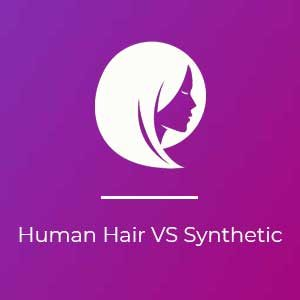 human hair wigs at House of colour hairdressers in Dublin