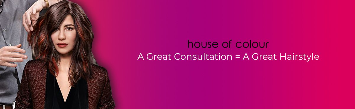 A Great Consultation A Great Hairstyle at House of colour hair salons in Dublin