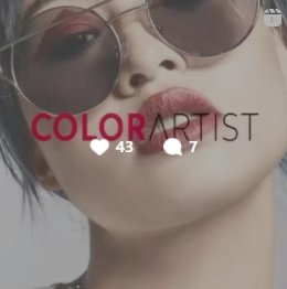 Trendvision Awards #colourArtist #colourspecialist