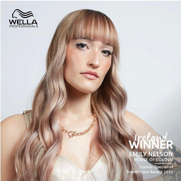 Trendvision gold winners at house of colour hair salons, Dublin